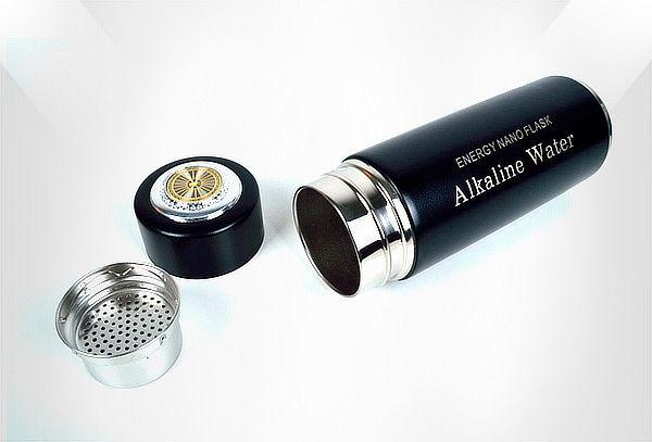 Botella Alcalinizadora de Agua.