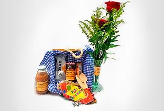 Desayuno u Onces Sorpresa + Rosas en Solitario