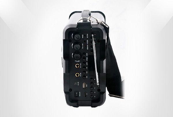 Parlante Bluetooth 8w Karaoke Portable Micrófono Usb