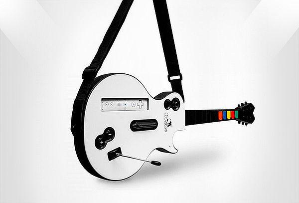 Guitarra Huskee Para Nintendo Wii