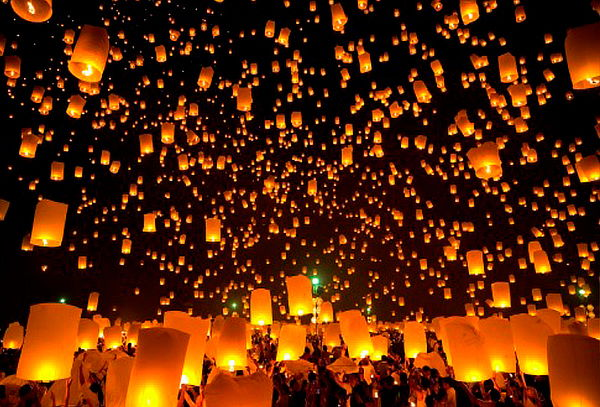 Festival de Luces en Villa de Leyva 7 de Diciembre