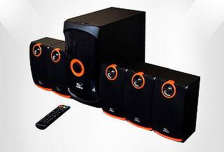 Teatro en Casa y Sistema de Audio / Radio FM / Bluetooth