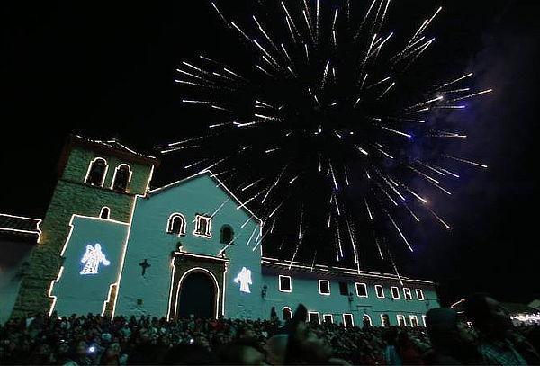 Festival de Luces en Villa de Leyva, Puente Boyaca, Raquira