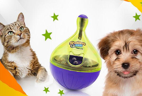 Pelota Interactiva Con Dispensador De Alimento para Mascotas