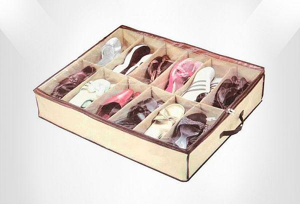1 o 2 Organizadores de 12 pares de Zapatos.