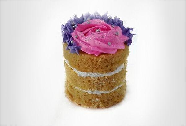 16 Cupcakes Baby Shower Rellenos + Mini torta a Domicilio