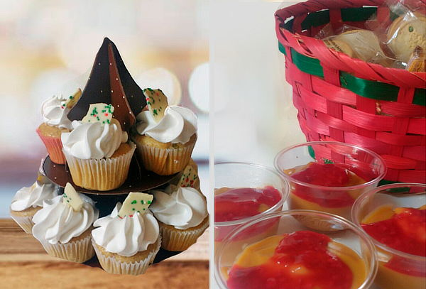 20 Natillas +  24 Mini Cupcakes a Domicilio