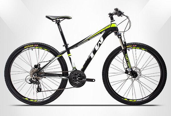 Bicicleta MTB en Aluminio 24 Vel. TOURNEY