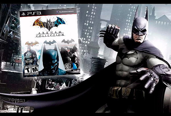 Batman Arkham Collection 3 X 1 Juegos Digitales Ps3 Original