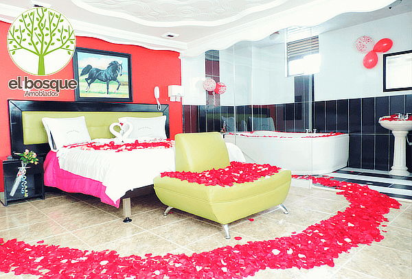 Motel Noche Romántica Suite + Decoración + Jacuzzi Chapinero