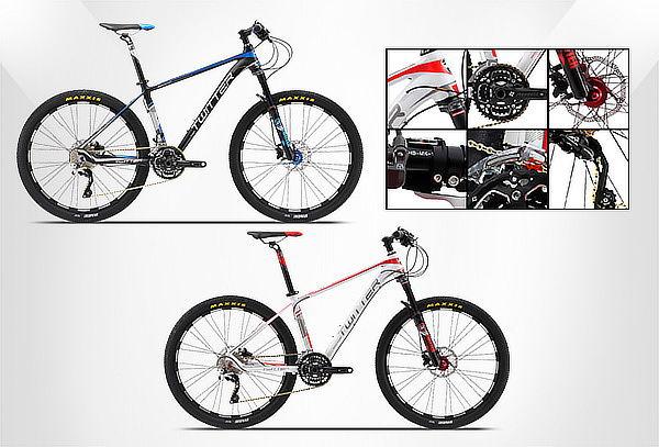 Bicicleta Rin 27.5 MTB en Aluminio SuperLigero 30 Vel. XT