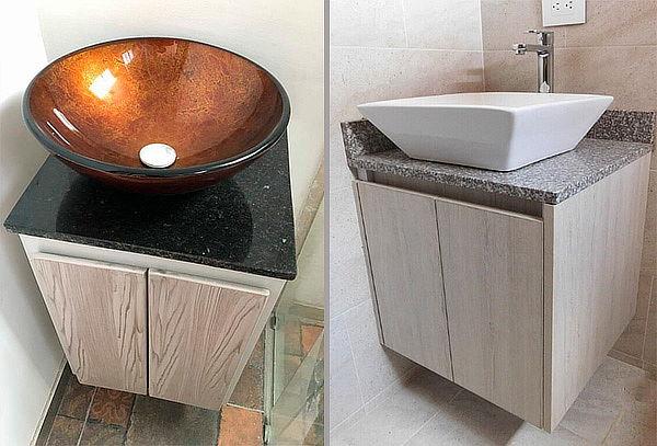 Mueble para Baño con Lavamanos y Grifería + Instalación