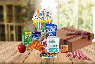 Desayuno Sorpresa + Mug + Globo + Mantel a Domicilio