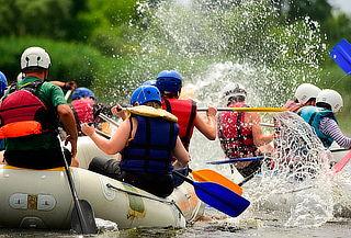 Circuito Aventurero con Ciclomontañismo + Rafting en Útica