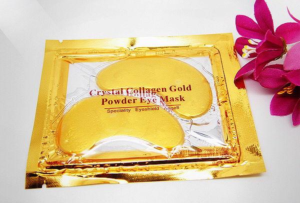 10 Pares de Mascarillas Crystal Collagen Gold