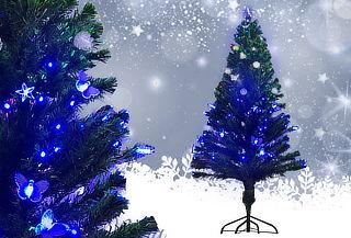 Árbol de Navidad Fibra Óptica Tamaño 1,80 o 2,10 m