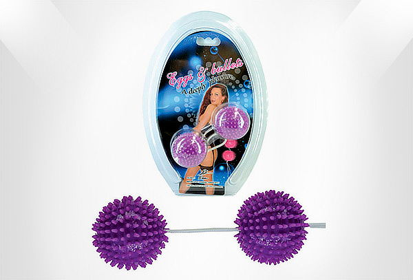 Bolas Vaginales Purple