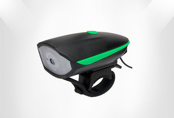 Linterna Led con Pito para Bicicleta 250 Lumins