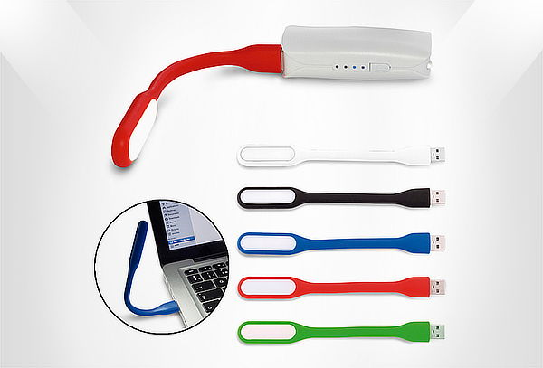 Mini Lampara Flexible Portátil