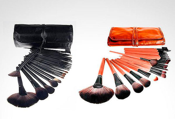 Set de 24 Brochas de Maquillaje Color a Elección
