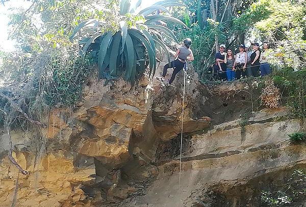 Día Extremo en Villa de Leyva: Rapel + Escalada + Salto
