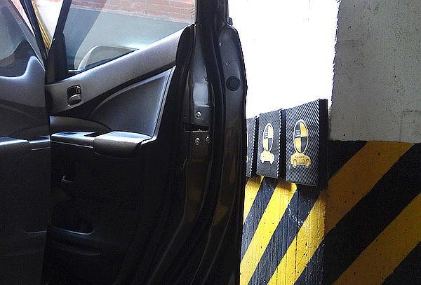 3 Protectores de Puertas Para Auto Contra Superficies