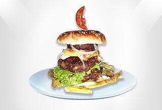 Hamburguesa Trifásica 1.500 Gr de Carne en Ciudad Montes