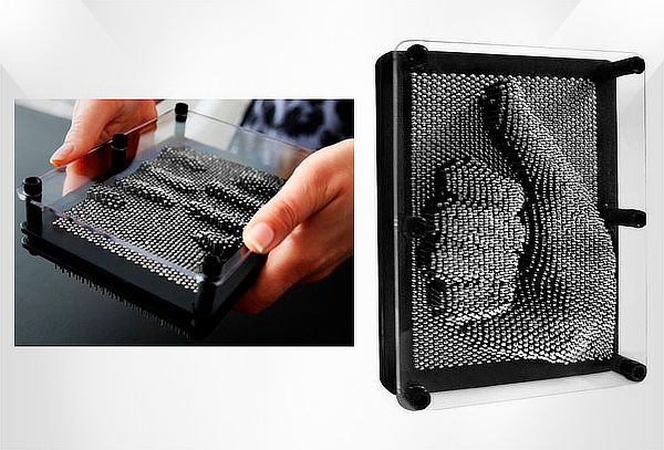 Pin Art Juego para Crear Formas en 3D