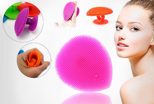 Cepillo de Limpieza Facial Exfoliante de Silicona