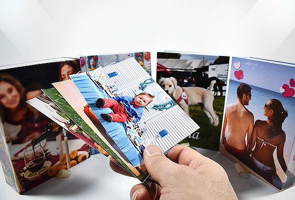 Empaque Regalo con Foto Personalizada + 100 Fotos Impresas
