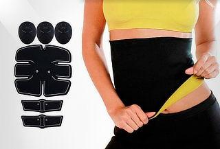 Gimnasia Pasiva para Abdomen y Brazos + Cinturilla Unisex