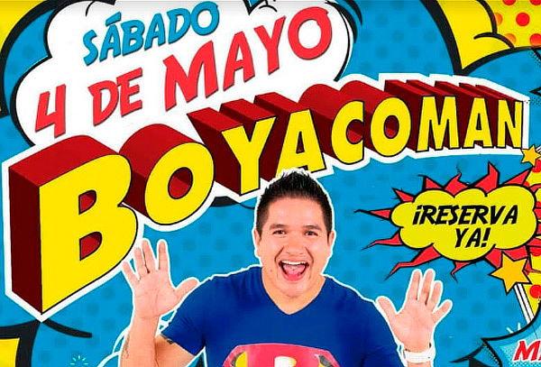 Noche de Madres con Boyacoman + Mariachi y Parranda en vivo