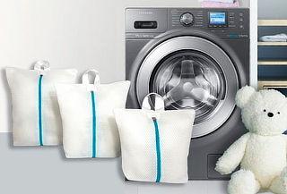 3 Bolsas Finas para Lavar Ropa Delicada en Lavadora