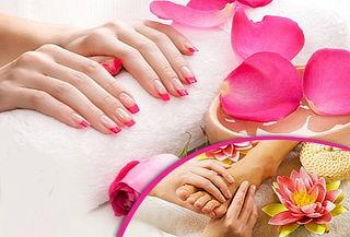 Manicura y pedicura, Spa de manos y pies