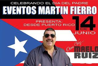 Concierto de Maelo Ruiz - Martín Fierro Viernes 14 de Junio