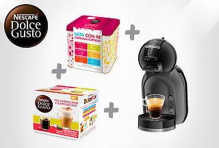 Cafetera Dolce Gusto® Mini Me + Mix de 30 capsulas + Lata