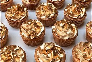 72 Mini CupCakes Deluxe Golden