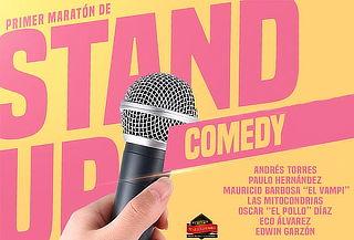 Primer Maratón de Stand Up Comedy en Martin Fierro