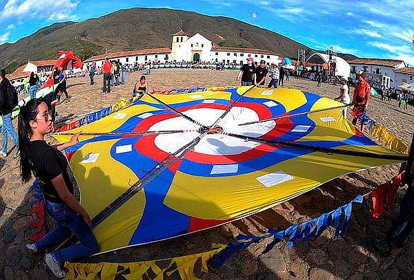 Festival De Cometas Villa De Leyva