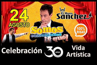 Entrada Platino Al Show Somos Colombianos ¡Y Qué!