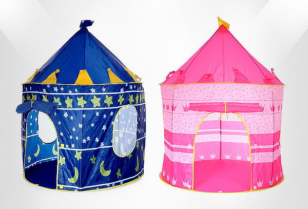 Carpa Castillo para Niños Azul o Rosa
