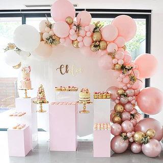 Decoración con globos  para tus fiestas