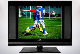 Televisor Monitor Huskee Tv 16 Pulgadas Con Tdt Vga Hdmi Rca