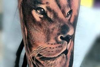 Tatuaje en Blanco y Negro + Asesoría Personalizada + Diseño