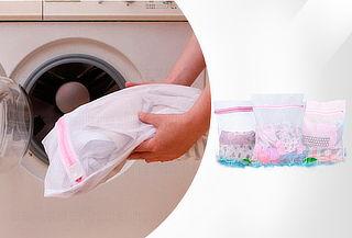 6 Bolsas para Lavar Ropa Delicada en Lavadora