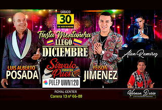 Yeison Jiménez y Luis Alberto Posada, Llegó Diciembre