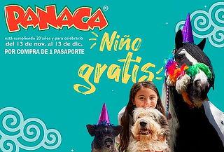 Ingreso a Panaca con 5 Shows Espectaculares - Niño Gratis
