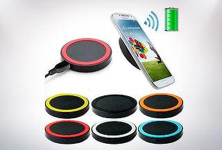 Cargador Inalámbrico Qi Genérico para Smartphones.