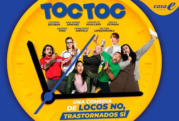 """Entrada a la Comedia  """"Toc Toc"""" en Casa E"""