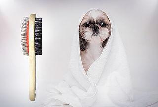 Cepillo Doble Uso para Mascotas